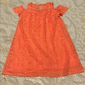 Other - 🍑Lace Dress for Girls 🍑Peach-So Pretty!